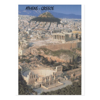 Herodion Parthenon van Griekenland Athene (St.K.) Briefkaart