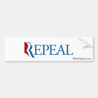 Herroeping Obamacare met de Sticker van de Bumper