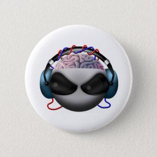 Hersenen Ronde Button 5,7 Cm