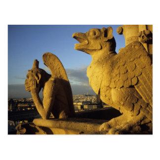 Hersenschim, aangaande Dame Cathedral, Parijs, Briefkaart