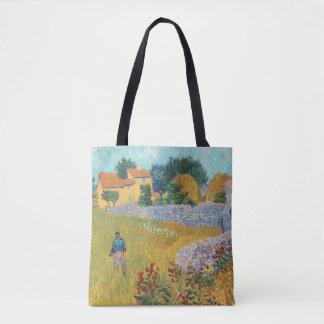 Herstelde Boerderij in de Provence door Van Gogh Draagtas