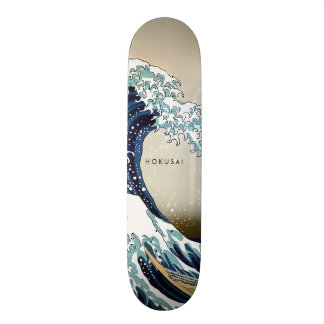 Herstelde Grote Golf van de Tekst van de Douane 20,6 Cm Skateboard Deck