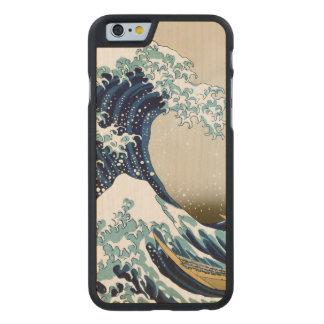 Herstelde Grote Golf van Kanagawa door Hokusai
