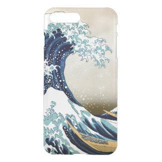 Herstelde Grote Golf van Kanagawa door Hokusai iPhone 8/7 Plus Hoesje