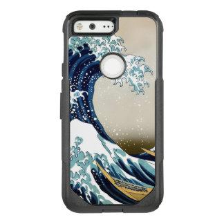 Herstelde Grote Golf van Kanagawa door Hokusai OtterBox Commuter Google Pixel Hoesje