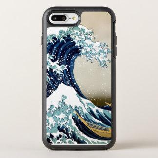 Herstelde Grote Golf van Kanagawa door Hokusai OtterBox Symmetry iPhone 8 Plus / 7 Plus Hoesje