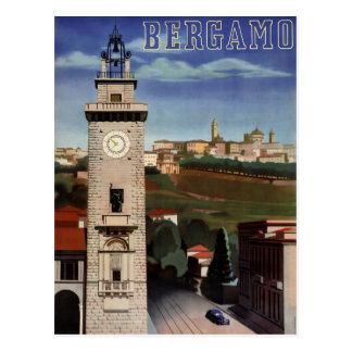 Herstelde Poster van de Reis van Bergamo het Briefkaart
