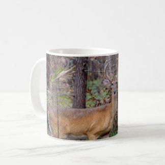 Herten in het bos koffiemok