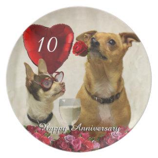 het 10de bord van chihuahuahonden van het Jubileum