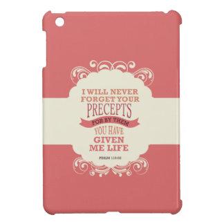 Het 119:93 van de psalm zal ik nooit uw iPad mini covers