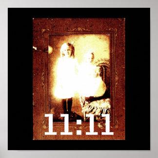 Het 11:11 van Genetix van de engel Poster