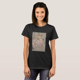 Het 16de de kapel van Michelangelo schilderen op T Shirt