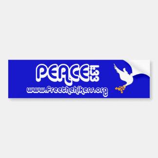 Het 1:33 Bumpersticker van de vrede