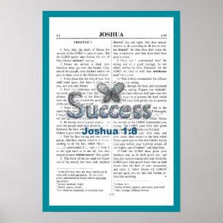 """Het 1:8 van Joshua, Poster, 19"""" x 13 """" Poster"""