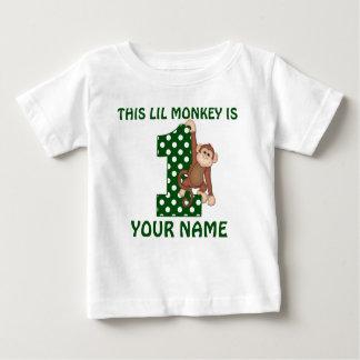 het 1st Gepersonaliseerde Overhemd van het Baby T Shirts