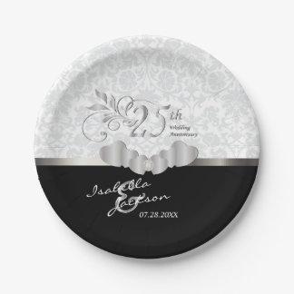 het 25ste Zilveren en Witte Jubileum van het Papieren Bordje