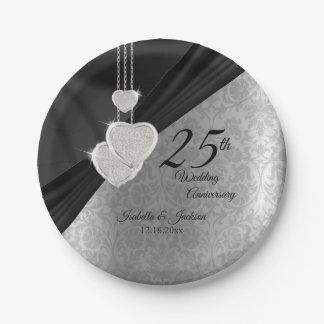 het 25ste Zilveren en Zwarte Jubileum van het Papieren Bordje