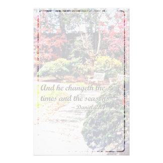 Het 2:21 van Daniel - en hij Changeth Briefpapier