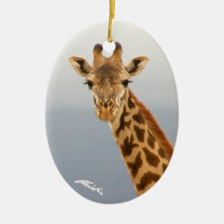 (Het 2-opgeruimde) Ornament van de giraf