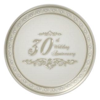 het 30ste Bord van het Jubileum van het Huwelijk