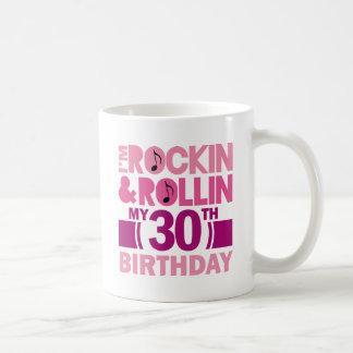het 30ste Idee van de Gift van de Verjaardag voor  Koffie Bekers