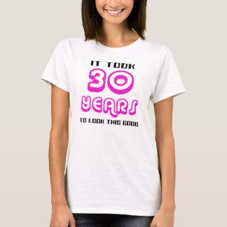 het 30ste Overhemd van de Verjaardag T Shirt