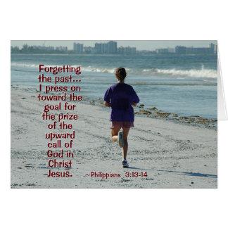 Het 3:13 van Philippians - Pers 14 naar het hoge Kaart