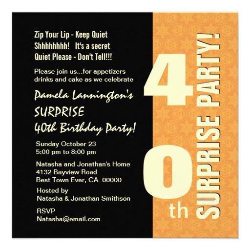 Uitnodiging Tekst 40 Jaar Verjaardag