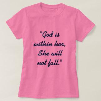 Het 46:5 van de psalm t shirt