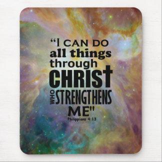 Het 4:13 van Philippians Muismatten