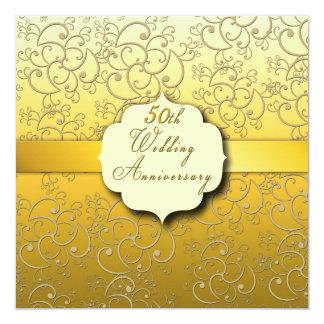het 50ste Gouden Jubileum van het Huwelijk - Kaart