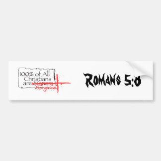 Het 5:8 van Romeinen Bumpersticker