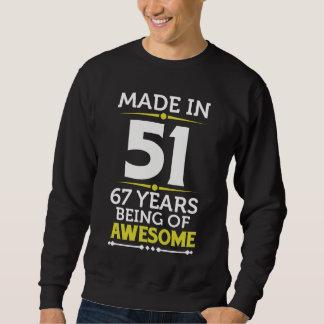 het 67ste Kostuum van de Gift van de Verjaardag Trui