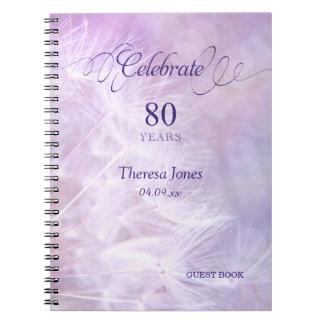 het 80ste Notitieboekje van het Boek van de Gast Notitieboek