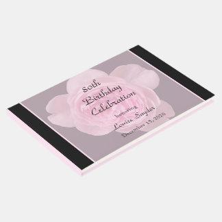 het 80ste Roze van de Verjaardag nam het Boek van