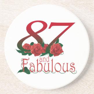 het 87ste Onderzetter van de Verjaardag