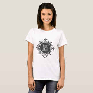 Het Aandeel van de liefde herhaalt de Bloem van de T Shirt
