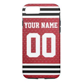 Het aangepaste Hockey Jersey van Sporten iPhone 8/7 Hoesje