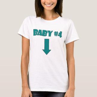 Het AANTAL FOUR.png van het BABY T Shirt