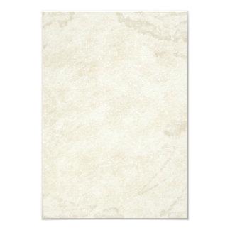 Het Aantal van de Lijst van het Perkament van 8,9x12,7 Uitnodiging Kaart