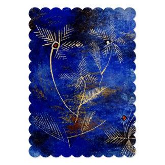 Het Abstracte Art. van de Sprookjes van Paul Klee Custom Uitnodging