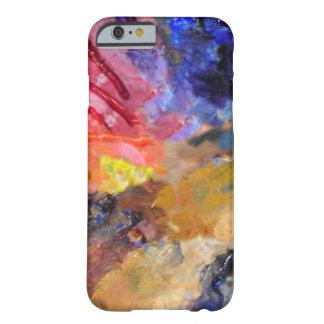 Het Abstracte Art. van het Palet van de Schilder Barely There iPhone 6 Hoesje