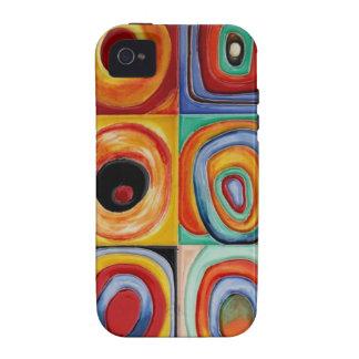 Het Abstracte Art. van Kandinsky Vibe iPhone 4 Cover