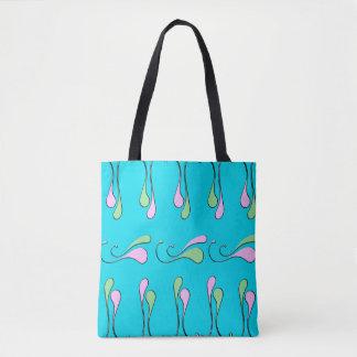 Het abstracte Canvas tas van de Pastelkleur