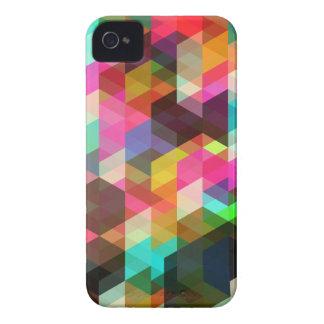 Het abstracte Geometrische Geval van iPhone Case-Mate iPhone 4 Hoesjes
