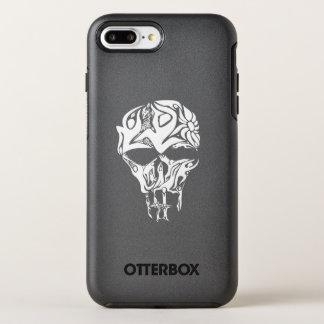 Het abstracte gevormde Kunstwerk van de Schedel, OtterBox Symmetry iPhone 8 Plus / 7 Plus Hoesje