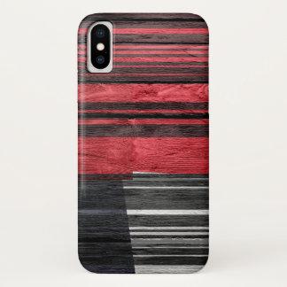 Het abstracte Hout van de Pastelkleur iPhone X Hoesje