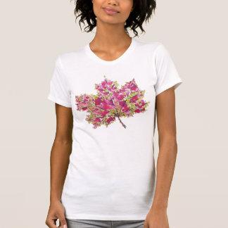 Het abstracte Kleurrijke Blad van de Herfst van de T Shirt