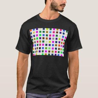 Het abstracte Lawaaierige Palet van de Kleur T Shirt