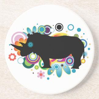 Het abstracte Onderzetter van de Rinoceros